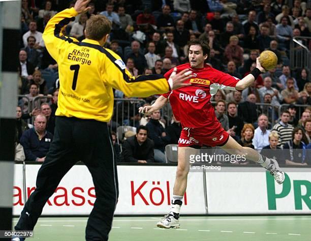 German Handball Keeper Steinar Ege VfL Gummersbach Mark Schmetz Tusem Essen