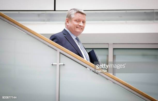 German Health Minister Hermann Groehe on February 19 2018 in Berlin Germany