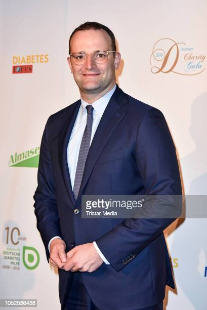 German health minister Jens Spahn attends the 8th Diabetes Charity Gala at Tipi am Kanzleramt on October 18 2018 in Berlin Germany