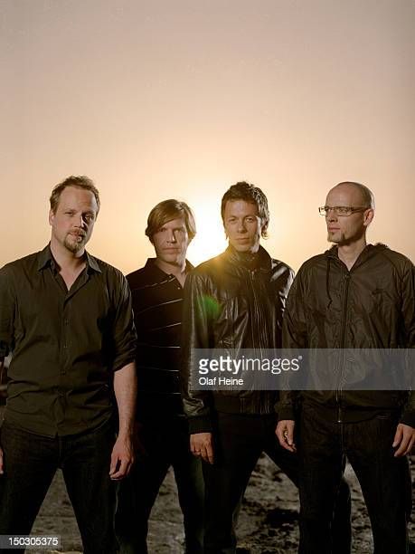 German hip hop group Die Fantastischen Vier are photographed on September 3, 2004 in Stuttgart, Germany.