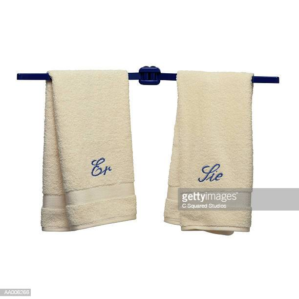 German His and Her Towels