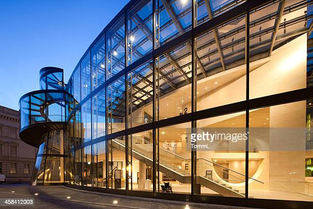 german historical museum berlin, germany - i.m. pei stock photos and pictures
