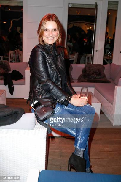German host and singer Kim Fischer attends the 'Baltic Lights' charity event on March 10, 2017 in Heringsdorf, Germany. Every year German actor Till...