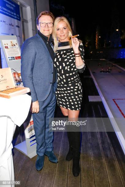 German host Wolfgang Lippert and his wife Gesine Lippert attend the 'Baltic Lights' charity event on March 10, 2017 in Heringsdorf, Germany. Every...
