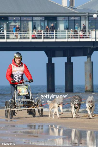 German host Wolfgang Lippert attends the 'Baltic Lights' charity event on March 11, 2017 in Heringsdorf, Germany. Every year German actor Till...