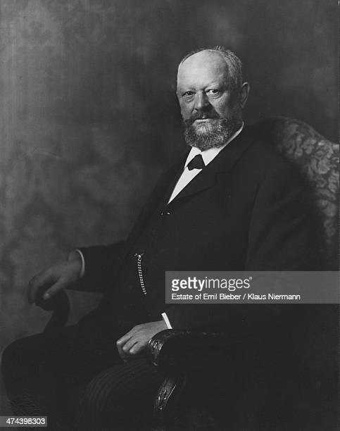 German industrialist Ernst Christian Voss cofounder of the Hamburg shipping and engineering company Blohm und Voss circa 1905