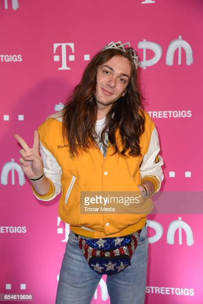 German Influencer Riccardo Simonetti attends the Telekom Street Gigs with Depeche Mode on March 17 2017 in Berlin Germany
