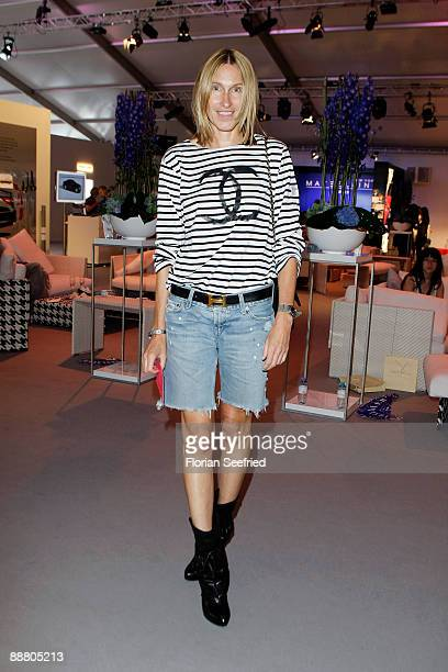 German Instyle chief editor Annette Weber attends the 'Lala Berlin Fashion Show' during the MercedesBenz Fashion Week S/S 2010 on July 2 2009 in...