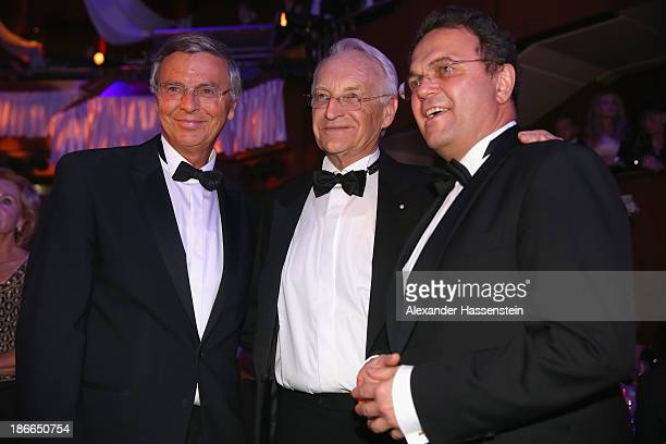 German Interior Minister HansPeter Friedrich attends with Edmund Stoiber and Wolfgang Bosbach Member of the Christian Democratic Union and member of...