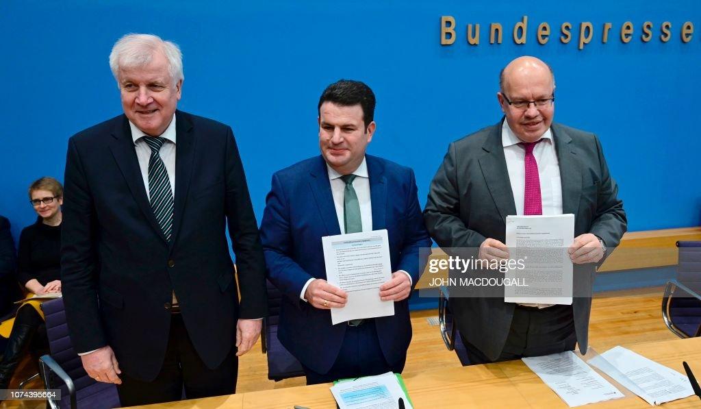GERMANY-EUROPE-MIGRANTS-ECONOMY-EMPLOYMENT : Nachrichtenfoto