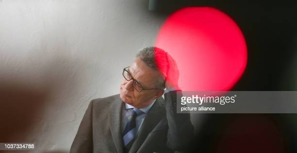 German Interior Minister Thomas de Maiziere visits the online platform betterplaceorg where he speaks with employees and participates in the...