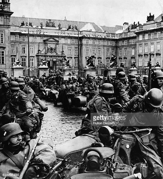German Invasion Of Prague