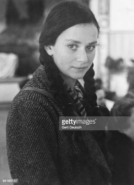 German Jewish girl, one of several hundred who have arrived in Britain as part of the 'Kindertransport', at Dovercourt Bay camp, near Harwich in...