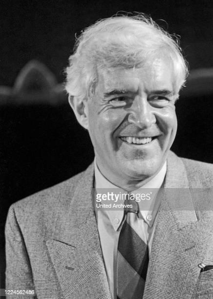 German journalist and government spokesman Peter Boenisch, Germany circa 1984.