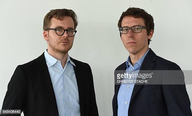 German journalists Frederik Obermaier and Bastian Obermayer are journalists working for the investigative unit of the Munichbased Süddeutsche Zeitung...