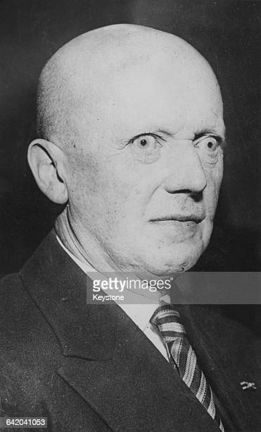 German jurist and Nazi politician Hans Heinrich Lammers a member of the new Council of Ministers for the Defence of the Reich 1939