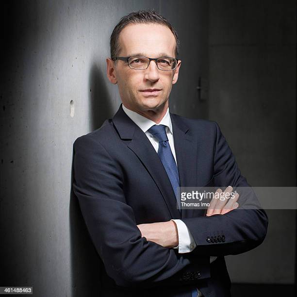 German Justice Minister Heiko Maas SPD poses for a photograph on January 09 2014 in Berlin Germany