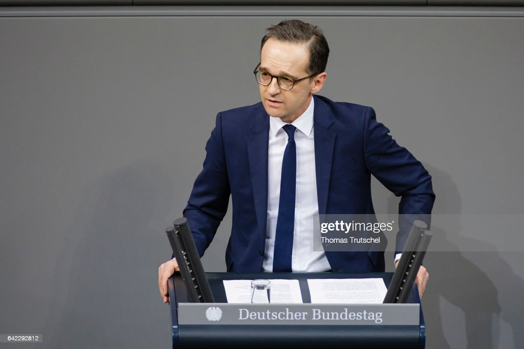 Heiko Maas : News Photo