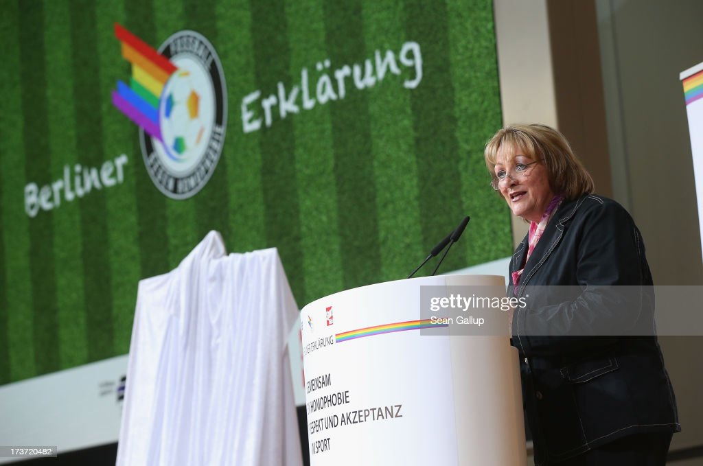 German Sports Organizations Sign Declaration Against Homophobia