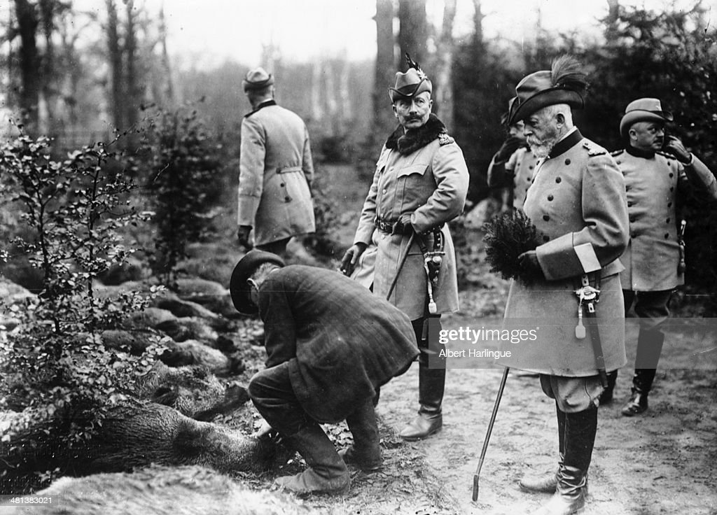 William II Of Prussia : News Photo