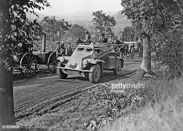 German light armored car