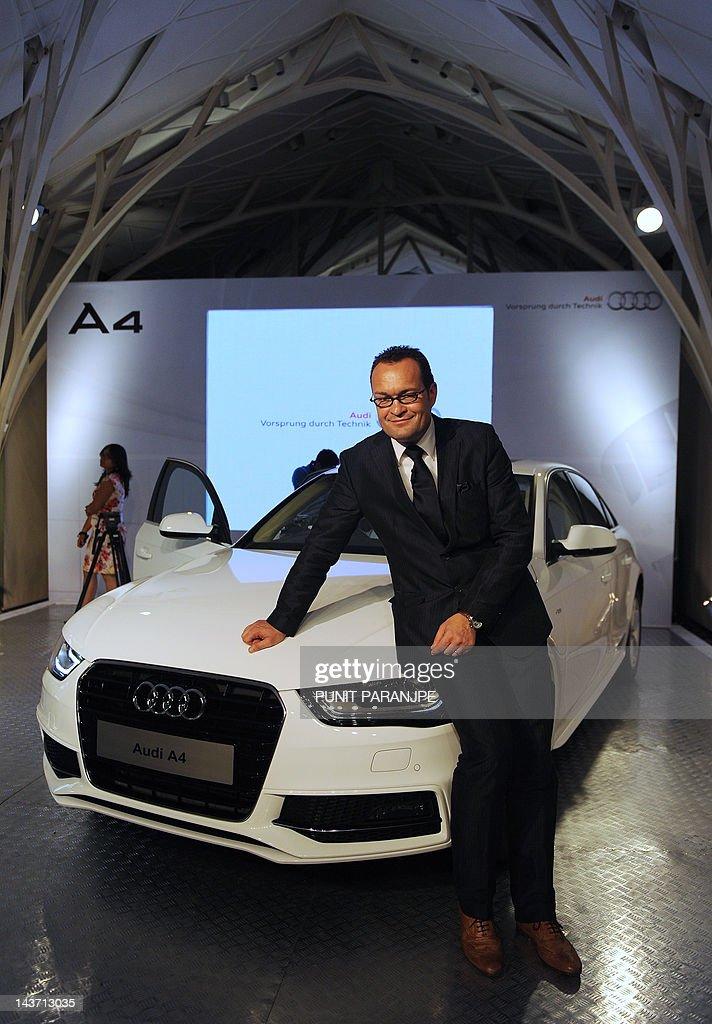 German Luxury Car Manufacturer Audi S India Head Michael Perschke