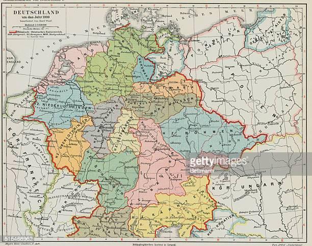 Germany Map Stock-Fotos und Bilder |