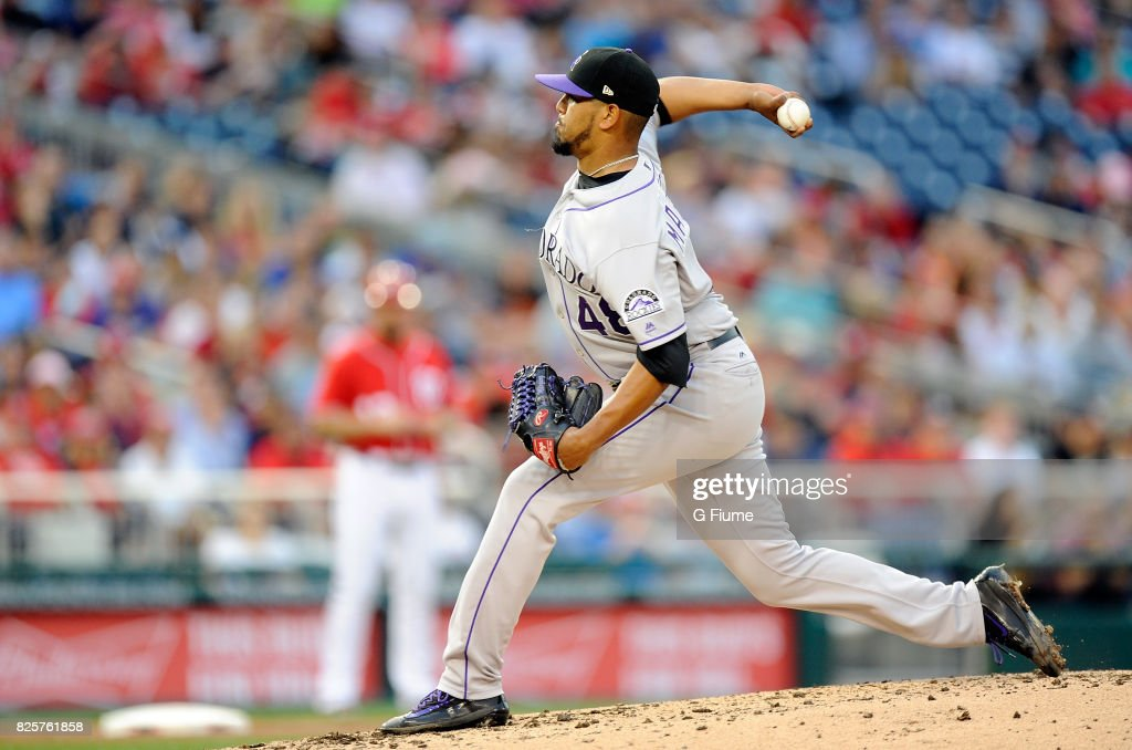 Colorado Rockies v Washington Nationals : News Photo