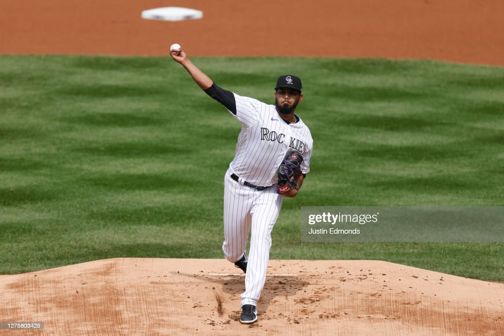 Oakland Athletics v Colorado Rockies : News Photo