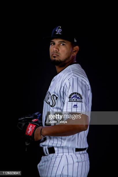 German Marquez of the Colorado Rockies poses during MLB Photo Day on February 20 2019 at Salt River Fields at Talking Stick in Scottsdale Arizona