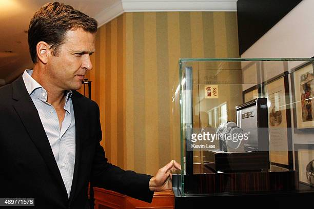 German men's national football team manager Oliver Bierhoff attends the IWC/Laureus VIP media lunch at the Laureus World Sports Awards in Shanghai...