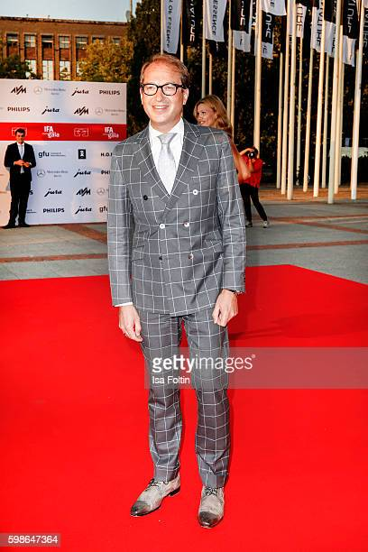 German minister of transport Alexander Dobrindt attends the IFA 2016 opening gala on September 1 2016 in Berlin Germany