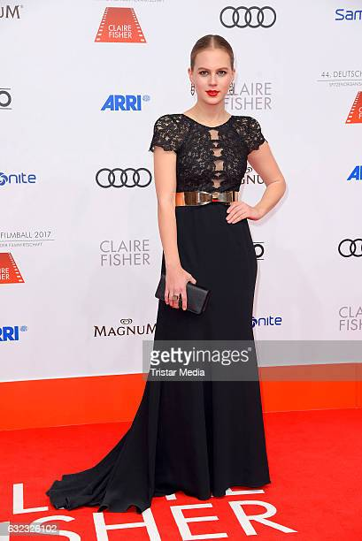 German model and actress Alicia von Rittberg attends the German Film Ball 2017 at Hotel Bayerischer Hof on January 21 2017 in Munich Germany