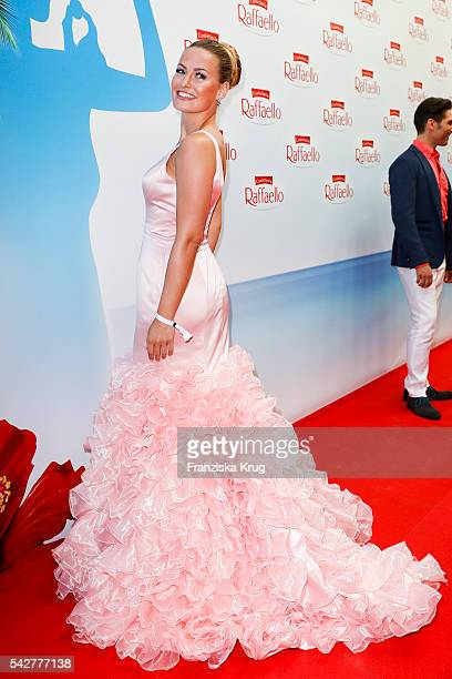 German model Anne Julia Hagen attends the Raffaello Summer Day 2016 to celebrate the 26th anniversary of Raffaello on June 24 2016 in Berlin Germany
