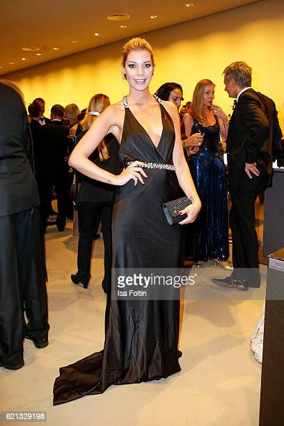 German model Annika Gassner attends the 23rd Opera Gala at Deutsche Oper Berlin on November 5, 2016 in Berlin, Germany.