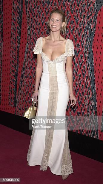 German model Claudia Schiffer.