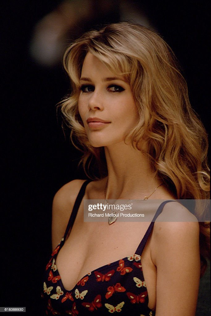 German Model Claudia Schiffer : Photo d'actualité