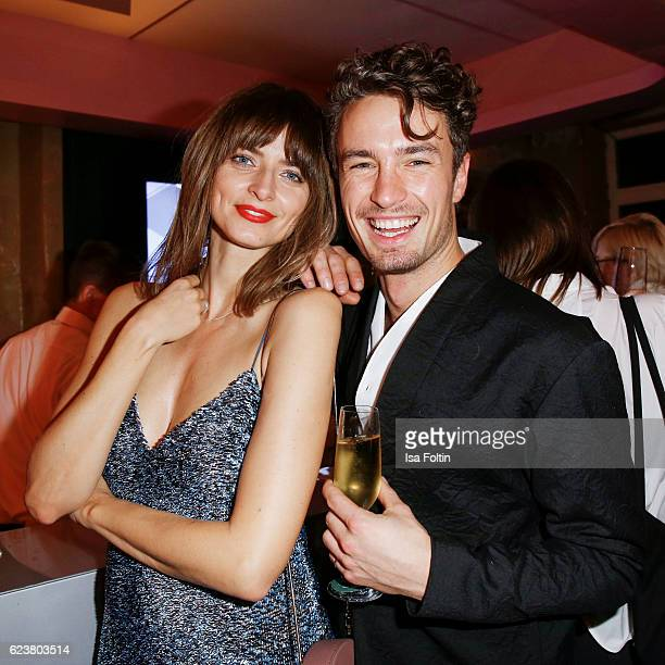 German model Eva Padberg and german model Simon Lohmeyer attend the New Faces Award Fashion 2016 the New Faces Award Fashion 2016 on November 16 2016...