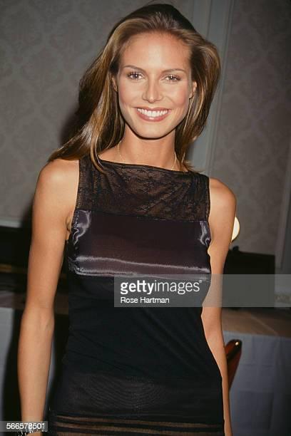 German model Heidi Klum attends the Victoria's Secret 3rd Annual Fashion Show circa 1997