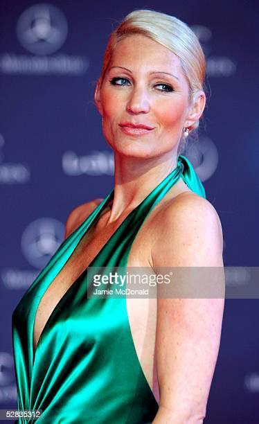 German model Sarah Kern arrives at the Laureus World Sports Awards on May 16 2005 at the Estoril Casino Estoril Portugal