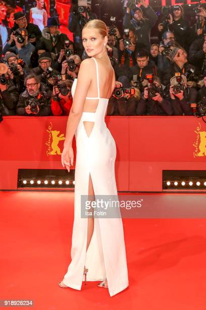 German model Toni Garrn attends the Opening Ceremony 'Isle of Dogs' premiere during the 68th Berlinale International Film Festival Berlin at...