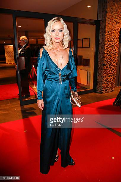 German moderator and news anchor Christiane Joerges arrives at the 23rd Opera Gala at Deutsche Oper Berlin on November 5 2016 in Berlin Germany