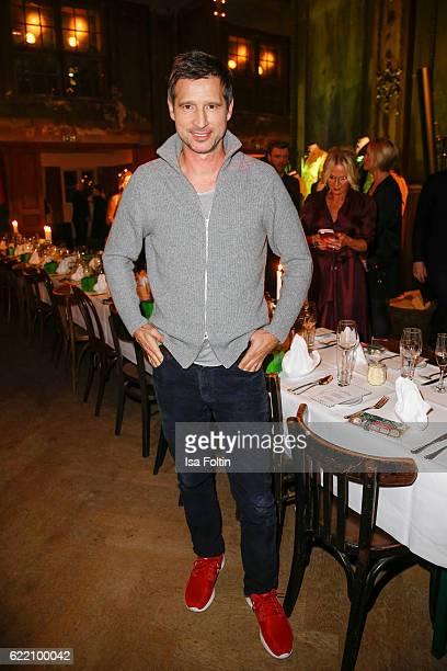 German moderator Andreas Tuerk attends the La Martina x GQ PreDinner on November 9 2016 in Berlin Germany