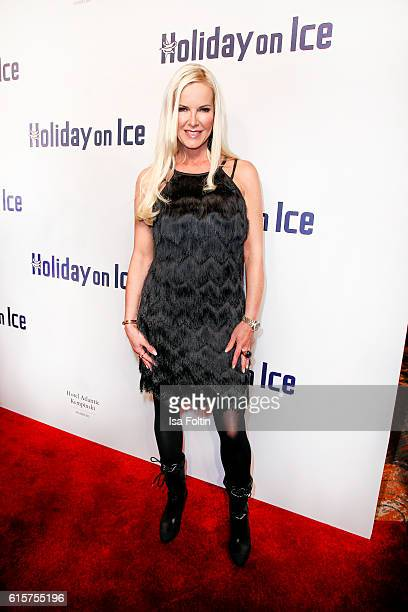 German moderator Anna Heesch attends the 'Holiday on Ice' gala at Hotel Atlantic on October 19 2016 in Hamburg Germany