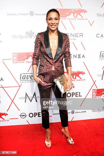 German moderator Annabelle Mandeng attends New Faces Award Style on November 16 2016 in Berlin Germany