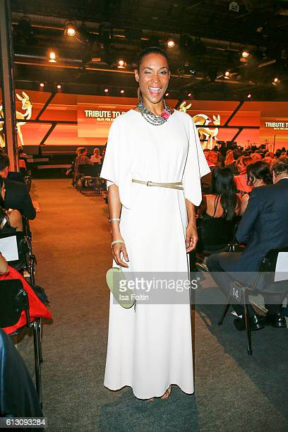 German moderator Annabelle Mandeng attends the Tribute To Bambi at Station on October 6 2016 in Berlin Germany