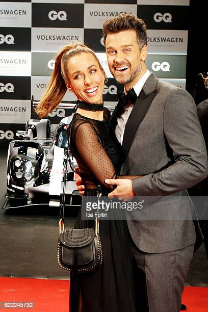 German moderator Annemarie Carpendale and her husband german actor Wayne Carpendale attend the GQ Men of the year Award 2016 at Komische Oper on...