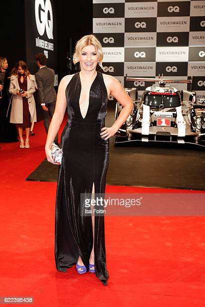 German moderator Annica Hansen attends the GQ Men of the year Award 2016 at Komische Oper on November 10 2016 in Berlin Germany