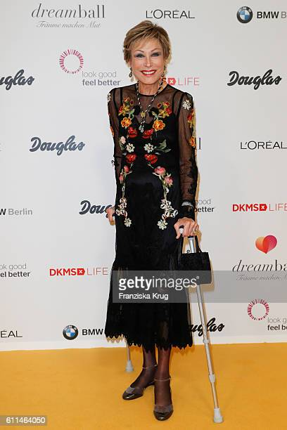German moderator AntjeKatrin Kuehnemann attends the Dreamball 2016 at Ritz Carlton on September 29 2016 in Berlin Germany