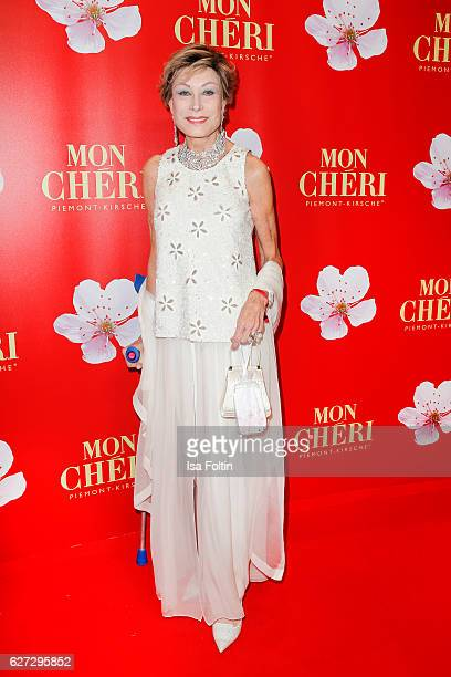 German moderator AntjeKatrin Kuehnemann attends the Mon Cheri Barbara Tag at Postpalast on December 2 2016 in Munich Germany